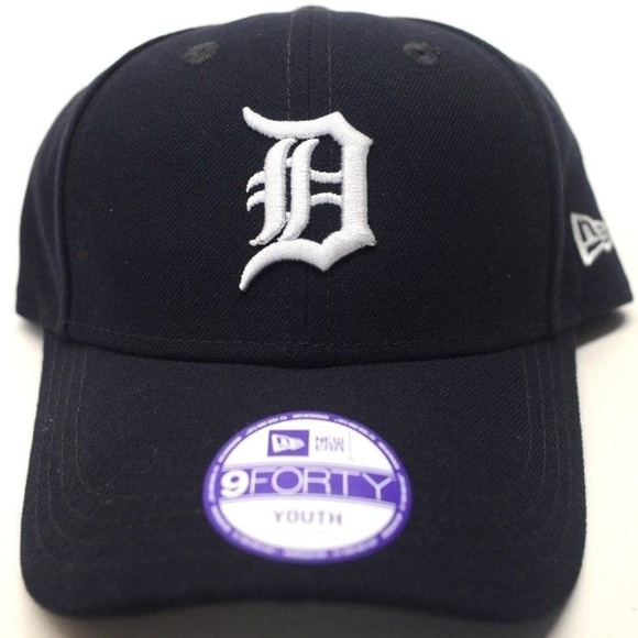 2ca41e31ce0 Youth New Era Detroit Tigers 9Forty Cap